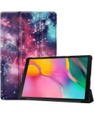 Design Trifold Bookcase Galaxy Tab A 10.1 (2019) - Into Space