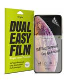 Dual Easy Anti-Stof Screenprotector Duo Pack voor de iPhone 11 Pro / Xs / X