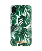 Fashion Backcover voor iPhone Xr - Monstera Jungle