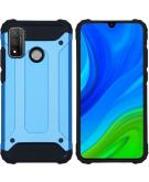 Rugged Xtreme Backcover voor de Huawei P Smart (2020) - Lichtblauw