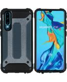Rugged Xtreme Backcover voor de Huawei P30 - Donkerblauw
