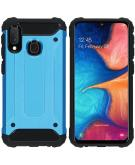 Rugged Xtreme Backcover voor de Samsung Galaxy A20e - Lichtblauw