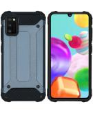 Rugged Xtreme Backcover voor de Samsung Galaxy A41 - Donkerblauw
