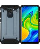 Rugged Xtreme Backcover voor de Xiaomi Redmi Note 9 - Donkerblauw