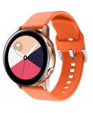 Siliconen bandje voor de Galaxy Watch 40/42mm / Active 2 42/44mm - Oranje