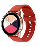 Siliconen bandje voor de Galaxy Watch 40/42mm / Active 2 42/44mm - Rood